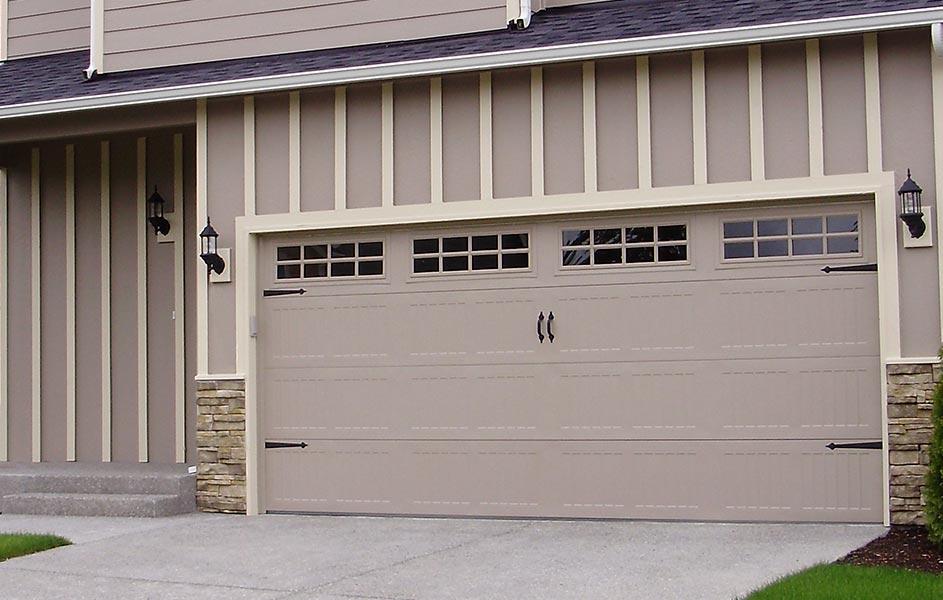 Mesa garage doors low price guarantee garage doors for Coach house garage prices