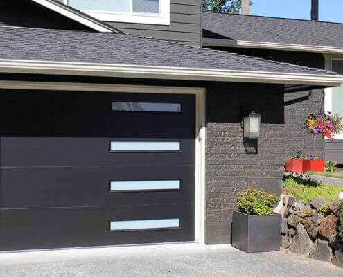 builders new international series showcases garage show designs ibs door cr canyon at clopay ridge doors pressreleases modern