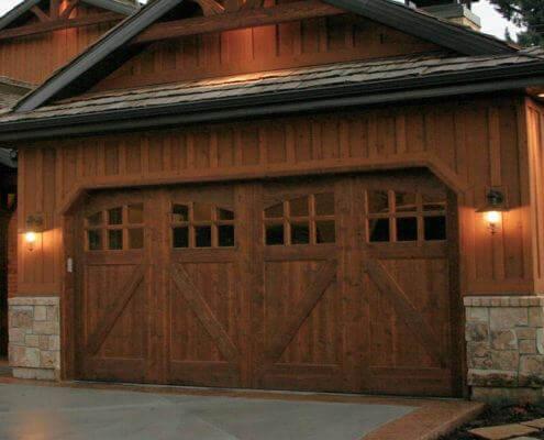 $175 OFF. Bronze Series Single Car Garage Door