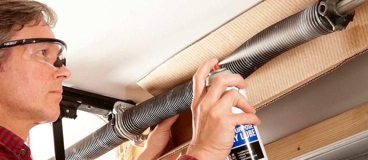 garage door maintenance tips
